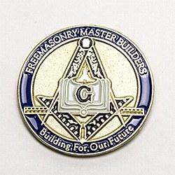 Master Builders Lapel Pin