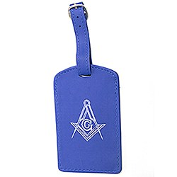 Luggage Tag Blue
