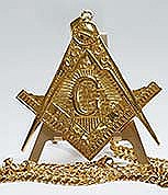 Masonic Pyramid necklace