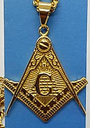 Masonic Plramid Necklace-small