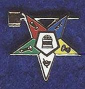 O.E.S. Past Matrons lapel pin