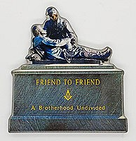 Friend to Friend Monument Magnet