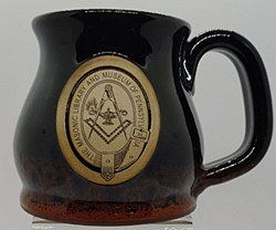 Stoneware Mug Brimstone