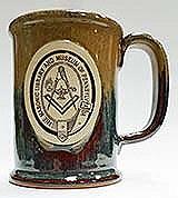 Stoneware mug Copperhead rum