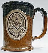 Stoneware mug Root beer float