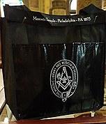 Masonic Temple CanvasTote Bag