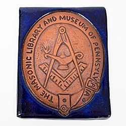 Tile of Masonic Library & Museum of Pennsylvania