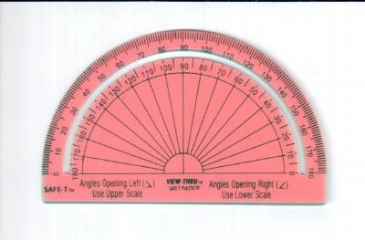 Advanced Geometry Protractor