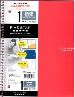 Algebra 1 High School Notebook