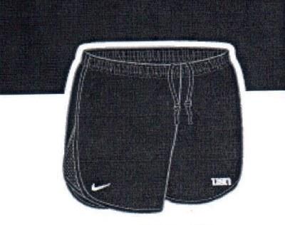 Ladies Nike Shorts X-Large