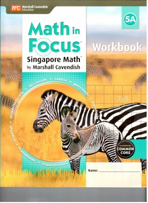 Math in Focus Workbook 5A