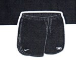 Ladies Nike Shorts Medium