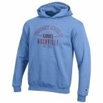 Youth blue hood Medium