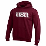 Youth Maroon Hoodie Small USN