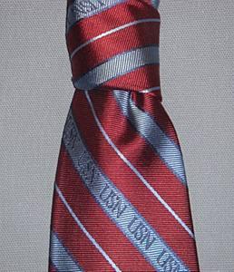 Tie, USN Stripes