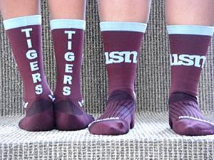 USN swiftwick socks Large
