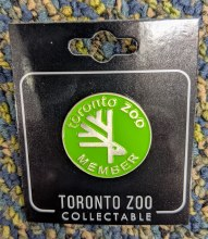 Member Collectable Label  Pin Member Price