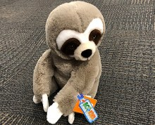 Ecokins Sloth Plush