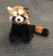 Large Red Panda Plush