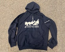 Support our Toronto Zoo Hoodie L