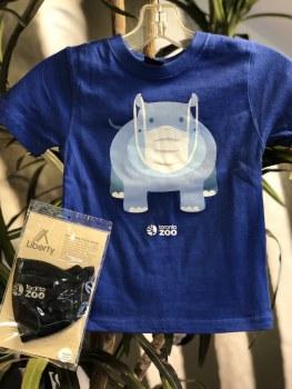 Kid's Shirt & Mask Combo - size 4
