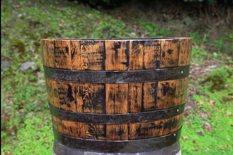 Half Barrel Planter