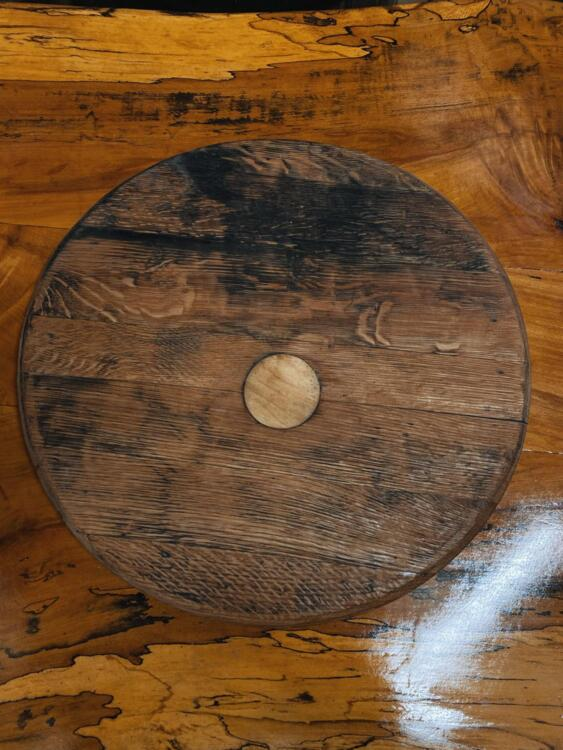 Barrel Top Chopping Board