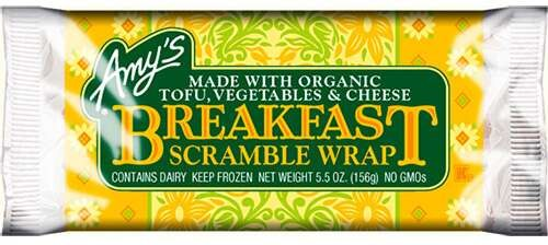 Breakfast Amy's scramble wrap 5.5oz