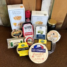 Dahlia & Sage-Meat & Cheese gift bag valued at $100.