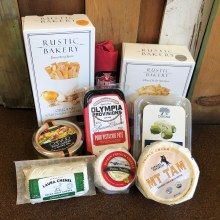 Dahlia & Sage-Meat & Cheese gift bag valued at $75.