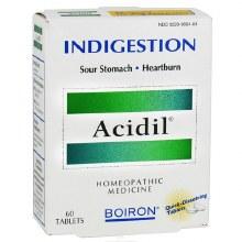 Boiron Acidil Heartburn Relief 60 melt away tablets
