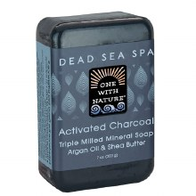 Dead Sea Activated Charcoal Bar Soap