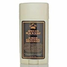 Nubian Heritage African Black Soap Deodorant 2.25 oz