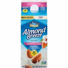 Blue Diamond Unsweetened Vanilla Almond Breeze 32 oz
