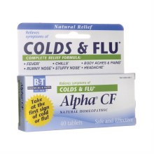 Boericke&Tafel Alfa Cold and Flu Remedy  40 tablets