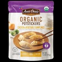 Annie Chun's Org Chicken & Vegetable Potstickers 7.6oz