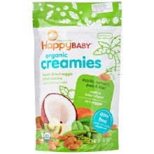Happy Babby Creamies Apple & Spinach074682103014