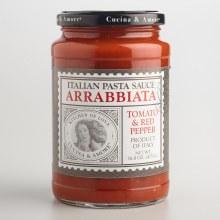 Cucina & Amore Arrabbiata Pasta Sauce 16.80 oz Prod. of Italy