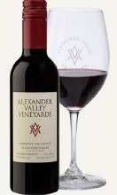 """Alexander Valley Vineyards Cabernet Sauvignon 750 mL """"classic Alexander Valley wine with a medium body, great fruit flavors and smooth, structured tannins"""""""