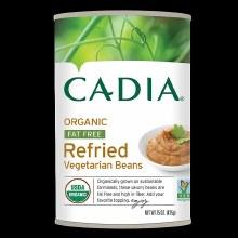 Cadia Refried Vegetarian Beans 16oz Org
