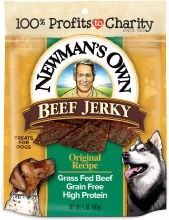 Newman's Own Beef Dog Treat 5 oz