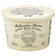 Bellwether Farms Plain Yogurt