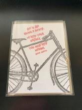 Big Wheel Press Greeting Card-Albert Einstein Quote-Blank Inside