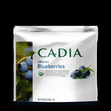 Cadia Frozen Organic Blueberries 10 oz
