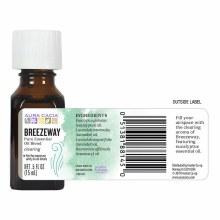 breezeway pure essential oil, aura cacia .5oz