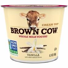 Brown Cow Vanilla 5.3 oz