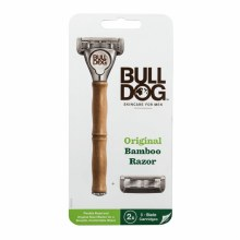 Bull Dog Original Bamboo Razor (2X 5 Blade Cartridges)