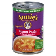 Annie's Organic Bunny Pasta and Chicken Broth Soup