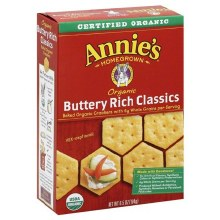 Annie's Buttery Rich Crackers