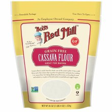 Bob's Red Mill Cassave Grain Free Flour 20 oz